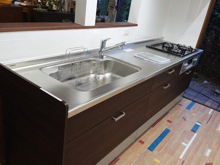 キッチン改装工事・鳩山町N様邸