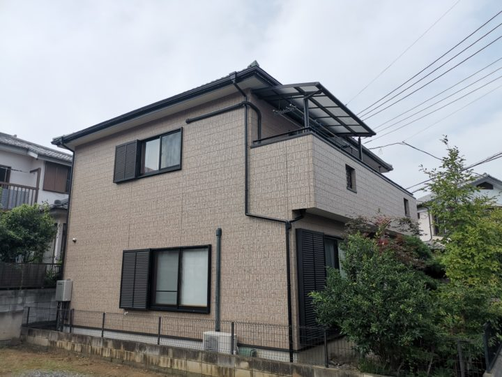 外壁塗装・雨樋交換工事鶴ヶ島市