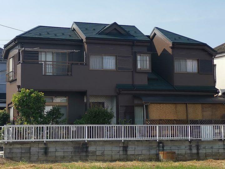 外壁塗装・屋根ガルバニウム鋼板カバー 鶴ヶ島市