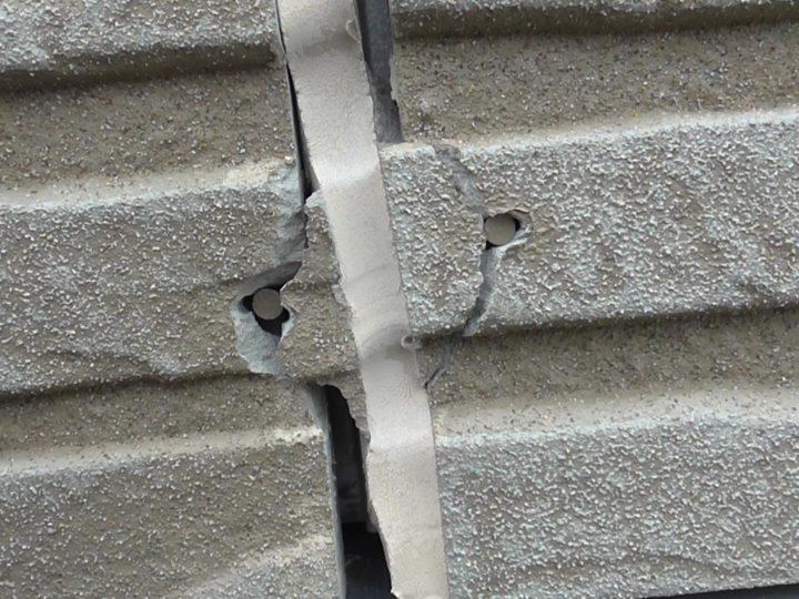 サイディング 外壁ひび割れ
