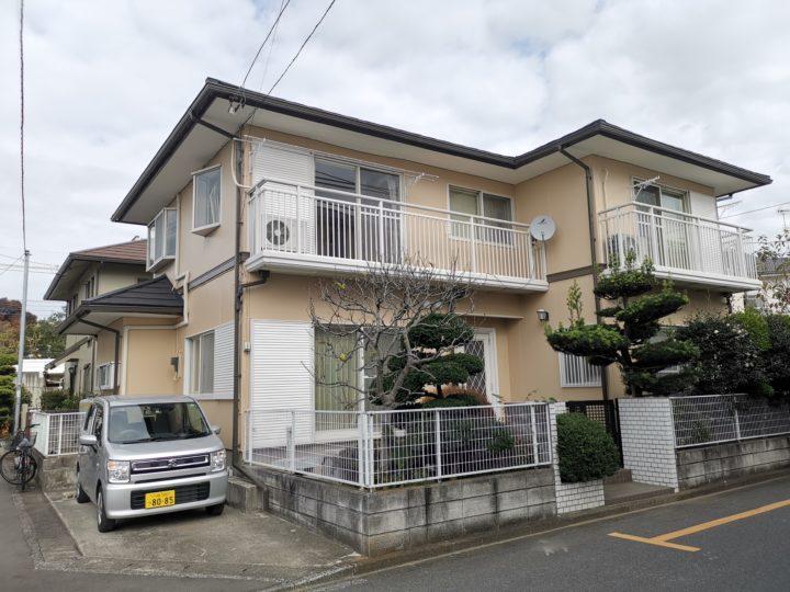 屋根カバー工事外壁塗装 鶴ヶ島市