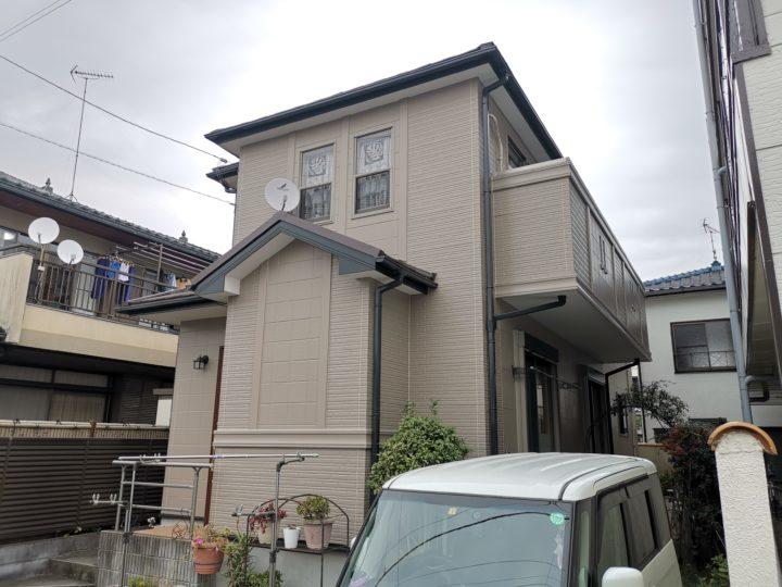 屋根葺き替え・外壁塗装坂戸市