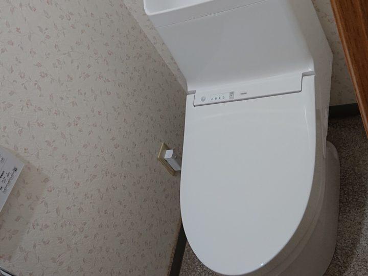 トイレ交換工事・坂戸市S様邸