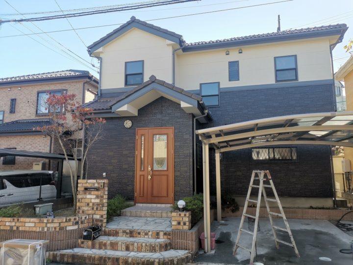 屋根外壁塗装飯能市Y様