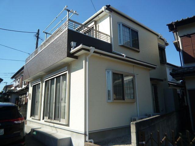 屋根外壁塗装所沢市K様