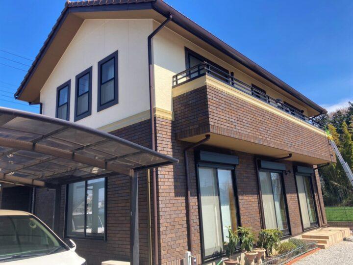 外壁塗装・ベランダFRP防水  東松山 M様邸