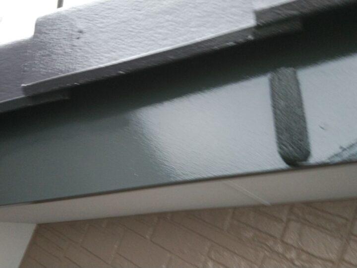 破風板塗装 2回目