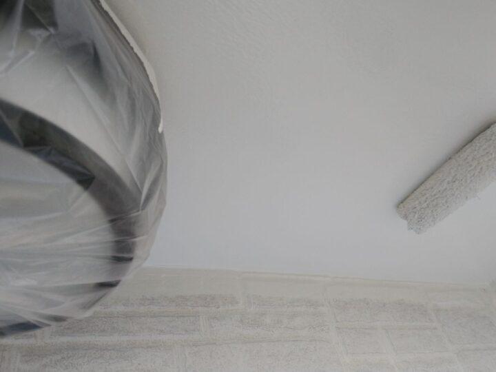 軒天塗装 2回目