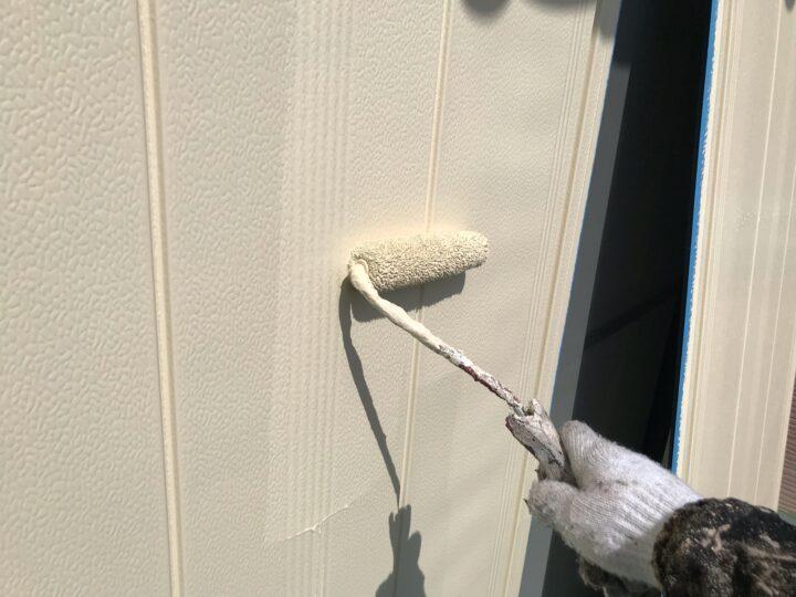 雨戸塗装 2回目