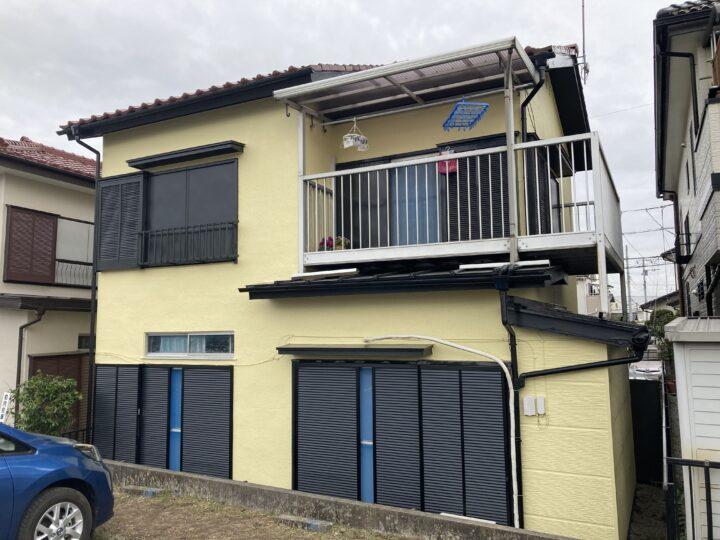 外壁塗装・屋根工事・雨戸交換 鶴ヶ島市五味ケ谷