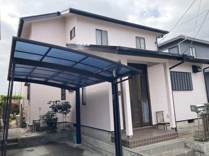 屋根塗装・外壁塗装・貫板・棟板金交換工事 毛呂山町N様邸