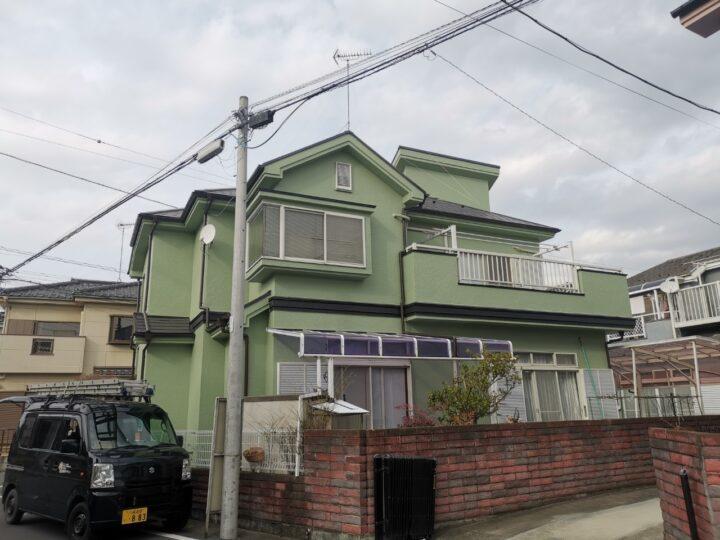 屋根塗装・外壁塗装 毛呂山町N様