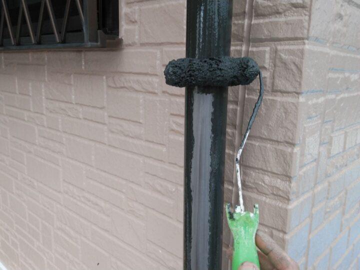 雨樋塗装 1回目
