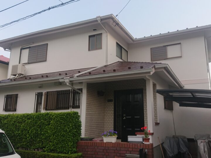 屋根塗装外壁塗装入間市H様