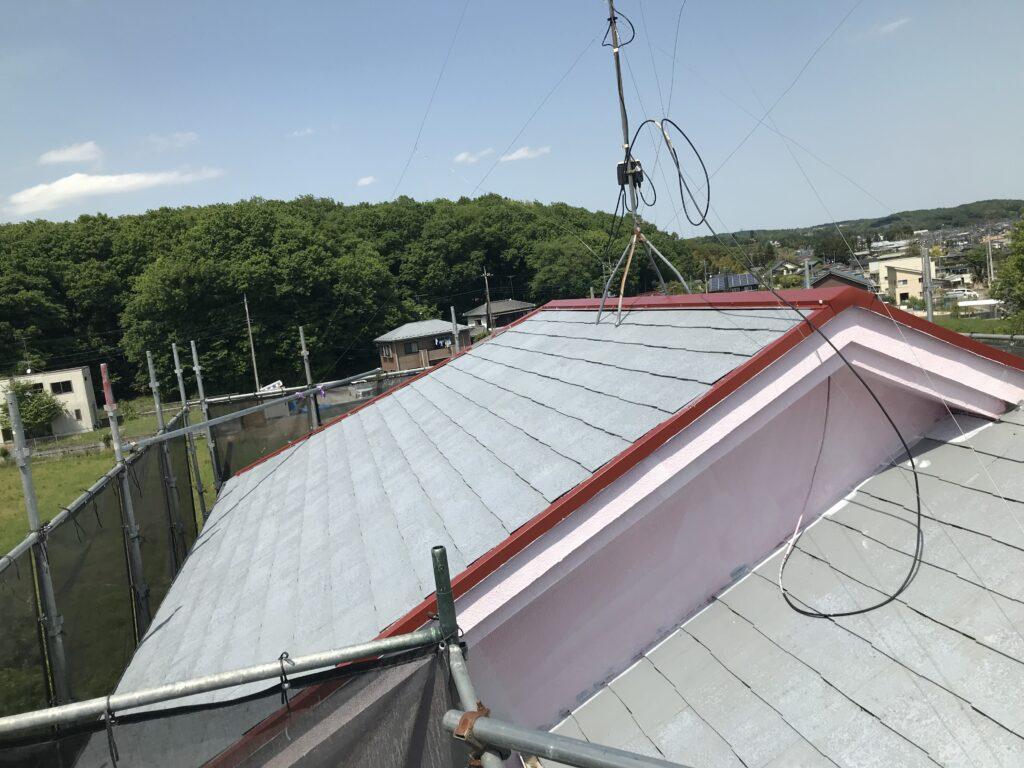 毛呂山町屋根塗装