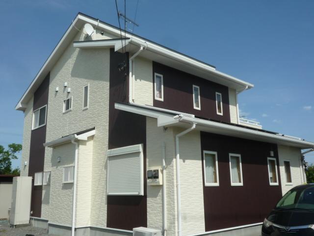 屋根塗装外壁塗装滑川町
