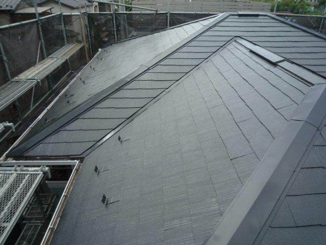 屋根塗装日高市