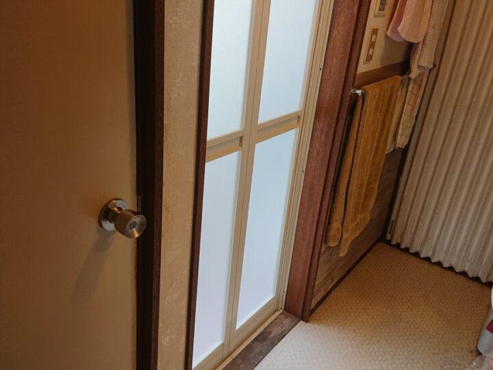 浴室ドア工事・鳩山町Ⅰ様邸