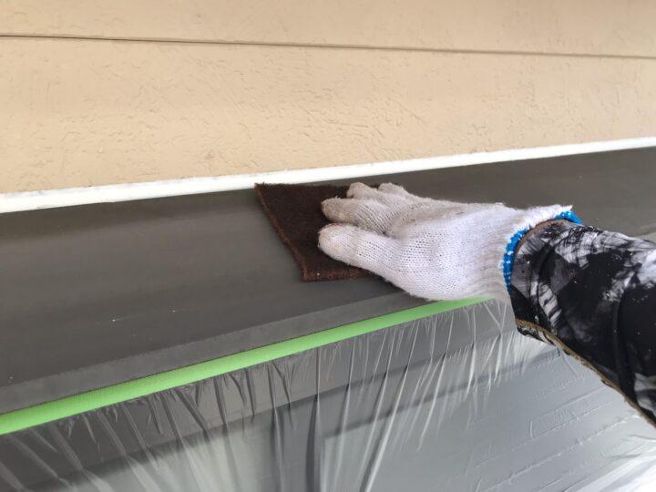 出窓天板 ケレン