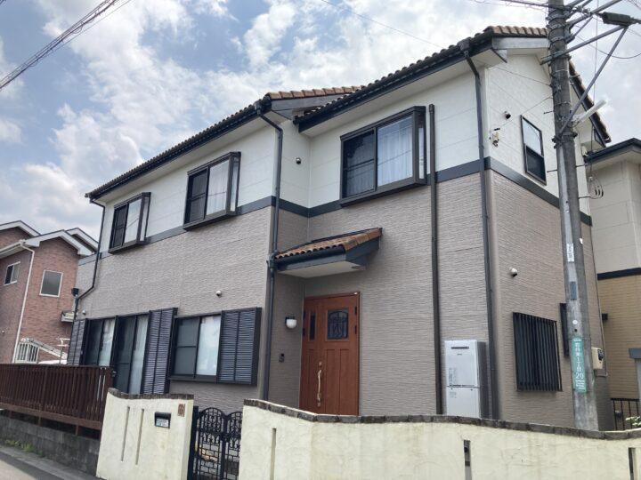 外壁塗装・棟積み替え 毛呂山町