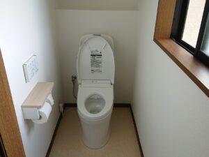 トイレ交換工事・越生町K様邸