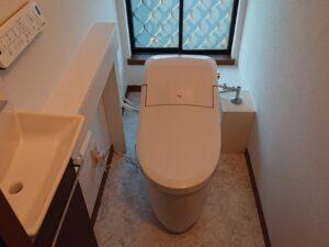 トイレ交換工事・鳩山町Y様邸