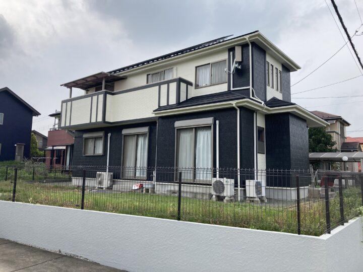外壁塗装・屋根カバー工事・太陽光パネル脱着工事 坂戸市