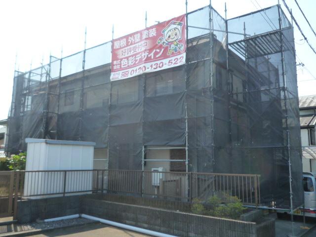 屋根リフォーム屋根カバー外壁塗装飯能市