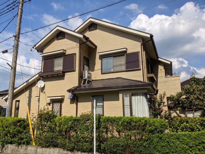 外壁塗装屋根塗装 東松山市
