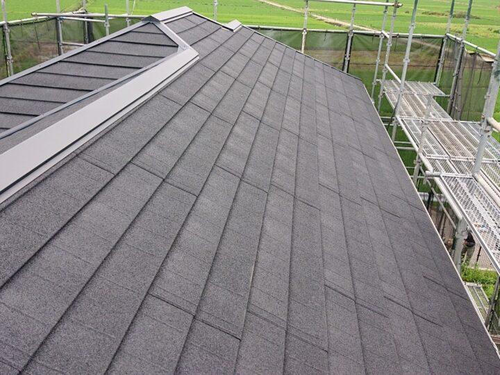屋根カバー施工完了