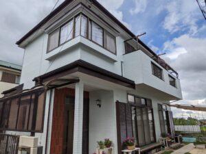 坂戸市 外壁塗装 屋根カバー工事