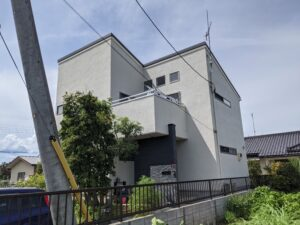 鳩山町 屋根カバー 外壁塗装