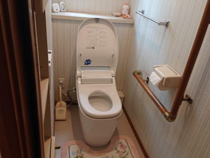 トイレ交換工事・坂戸市W様邸