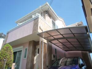 外壁塗装・雨樋交換 飯能市