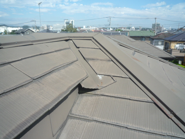 屋根診断屋根塗装飯能市