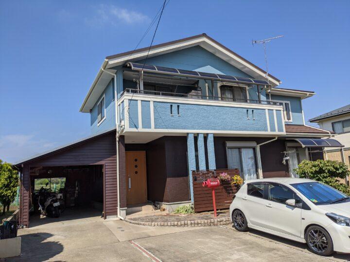 坂戸市外壁塗装屋根カバー工事