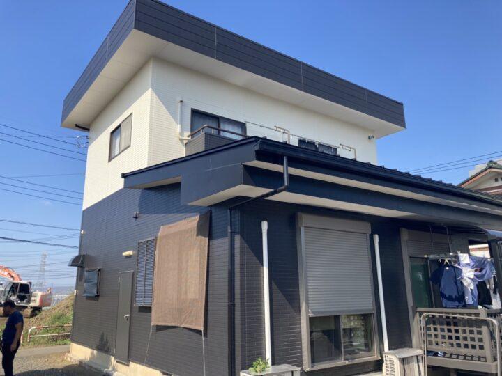 外壁塗装・折板屋根塗装・陸屋根防水 坂戸市