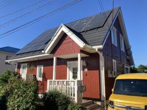 屋根カバー・外壁塗装・太陽光パネル工事