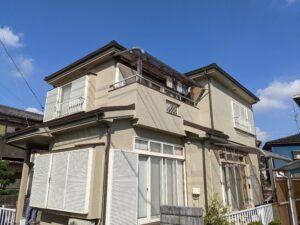 東松山市 外壁塗装 屋根カバー