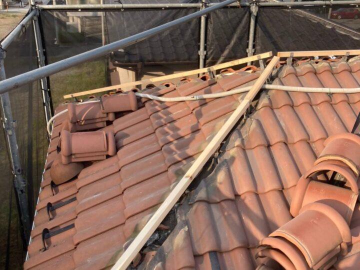 新規下地垂木施工